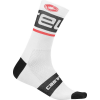 Castelli Men's Free Kit 13 Sock - Small / Medium - White/Black