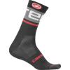 Castelli Men's Free Kit 13 Sock - Large / XL - Black/Dark Gray