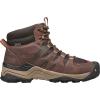 Keen Men's Gypsum II Mid Waterproof Boot - 7 - Coffee Bean / Bronze Mist