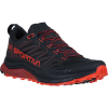 La Sportiva Men's Jackal Shoe - 40.5 - Black / Poppy