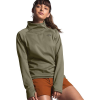 The North Face Women's Canyonlands 1/4 Zip Top - Large - Burnt Olive Green