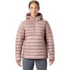 Mountain Hardwear Women's Rhea Ridge Pullover - Small - Smoky Quartz