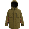 Burton Boys' Covert Jacket - Large - Martini Olive / Gratz Stripe