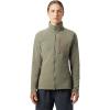 Mountain Hardwear Women's Keele Full Zip Jacket - Large - Light Army