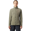 Mountain Hardwear Women's Keele Full Zip Jacket - Medium - Light Army