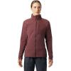 Mountain Hardwear Women's Keele Full Zip Jacket - Small - Washed Raisin
