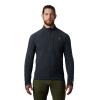 Mountain Hardwear Men's Keele Jacket - Large - Dark Storm
