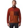 Mountain Hardwear Men's Unclassic Fleece Jacket - Medium - Rusted