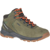 Merrell Men's Erie Mid Waterproof Shoe - 13 - Olive