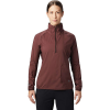 Mountain Hardwear Women's Kor Preshell Pullover - Medium - Washed Raisin