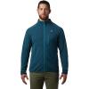 Mountain Hardwear Men's Norse Peak Full Zip Jacket - Medium - Icelandic