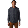Mountain Hardwear Men's Greenstone LS Shirt - Small - Dark Storm