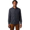 Mountain Hardwear Men's Greenstone LS Shirt - XL - Dark Storm