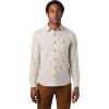 Mountain Hardwear Men's Greenstone LS Shirt - Small - Lightlands Dot Scatter Prt