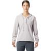 Mountain Hardwear Women's Mallorca Stretch LS Shirt - Medium - Dusted Sky