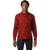 Mountain Hardwear Men's J Tree LS Shirt - Large - Rusted