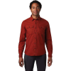 Mountain Hardwear Men's J Tree LS Shirt - Medium - Rusted