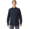 Mountain Hardwear Women's Camp Oasis LS Shirt - Medium - Dark Zinc