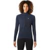 Mountain Hardwear Women's Daisy Chain 1/2 Zip Pullover - Medium - Dark Zinc