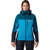 Mountain Hardwear Women's Exposure/2 GTX Active Jacket - Large - Dive