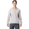 Mountain Hardwear Women's Mallorca Stretch LS Shirt - XS - Dusted Sky