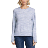Eddie Bauer Motion Enliven LS Step Hem Sweatshirt - XL - Dusted Indigo