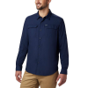 Columbia Men's Silver Ridge2.0 LS Shirt - Large - Collegiate Navy