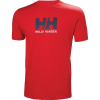 Helly Hansen Men's HH Logo T-Shirt - Large - Flag Red