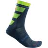 Castelli Men's Trofeo 15 Sock - Large / XL - Dark Steel Blue