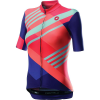 Castelli Women's Talento Jersey - Large - Multicolor Brilliant Pink