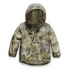 The North Face Infant Novelty Flurry Wind Jacket - 18M - Burnt Olive Green Ponderosa Print