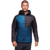 Black Diamond Men's Approach Down Hoody - Small - Astral Blue / Black