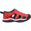 Keen Toddlers' Stingray Sandal - 4 - Black / Fiery Red
