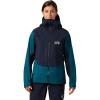 Mountain Hardwear Women's Exposure/2 GTX Pro Jacket - Medium - Dive