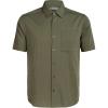 Icebreaker Men's Compass SS Shirt - Small - Cypress / Driftwood