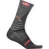 Castelli Men's Pro Mesh 15 Sock - Small / Medium - Black/Red