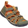 Keen Kids' Seacamp II CNX Sandal - 8 - Dusty Olive / Russet Orange