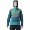 Mountain Hardwear Women's Exposure/2 GTX Paclite Stretch Pullover - XL - Washed Turq