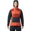 Mountain Hardwear Women's Exposure/2 GTX Paclite Stretch Pullover - XL - Dark Clay