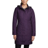 Eddie Bauer Women's Girl On The Go Insulated Trench - Large - Deep Eggplant
