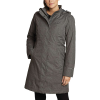 Eddie Bauer Women's Girl On The Go Insulated Trench - Large - Dark Charcoal Heather