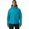 Mountain Hardwear Men's Exposure/2 GTX Paclite Jacket - Small - Vivid Teal