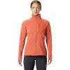 Mountain Hardwear Women's Keele Full Zip Jacket - Small - Dark Clay