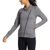 Eddie Bauer Motion Women's Resolution 360 Asymmetrical Jacket - Medium - Heather Gray