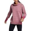Eddie Bauer Motion Women's Dash Point LS Funnel Neck Top - XL - Claret