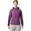 Mountain Hardwear Women's Echo Lake Hoody - Small - Cosmos Purple