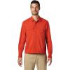 Mountain Hardwear Men's Echo Lake LS Shirt - XL - Desert Red