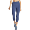 Eddie Bauer Motion Women's Movement Lux Rise Capri - L - Dusted Indigo