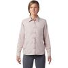 Mountain Hardwear Women's Canyon LS Shirt - XL - Smoky Quartz