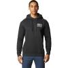 Mountain Hardwear Men's Berkeley 93 Pullover Hoody - Large - Heather Black